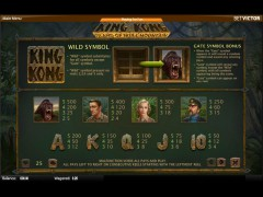 King Kong - Island of Skull Mountain slotmachines77.com Quickspin 2/5