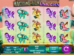 Machine Gun Unicorn slotmachines77.com Quickfire 5/5