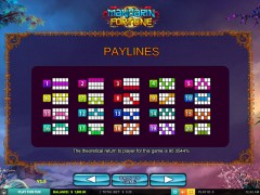 Mandarin Fortune slotmachines77.com 2by2 Gaming 5/5
