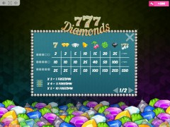 777 Diamonds slotmachines77.com MrSlotty 5/5