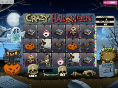 Crazy Halloween slotmachines77.com MrSlotty 1/5