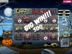 Crazy Halloween slotmachines77.com MrSlotty 2/5