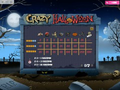 Crazy Halloween slotmachines77.com MrSlotty 5/5