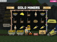Gold Miners slotmachines77.com MrSlotty 2/5