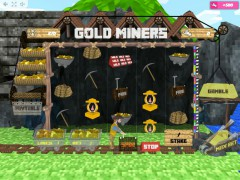 Gold Miners slotmachines77.com MrSlotty 3/5