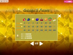 Golden7Fruits slotmachines77.com MrSlotty 5/5