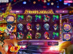 Trendy Skulls slotmachines77.com MrSlotty 1/5
