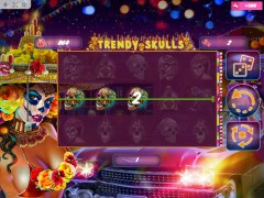Trendy Skulls slotmachines77.com MrSlotty 2/5