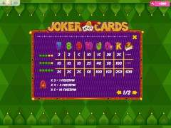 Joker Cards slotmachines77.com MrSlotty 5/5