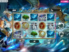 Zeus the Thunderer II slotmachines77.com MrSlotty 1/5