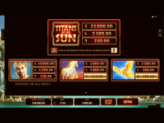 Titans of the Sun Hyperion slotmachines77.com Microgaming 4/5