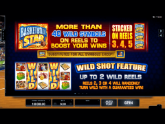 Basketball Star slotmachines77.com Quickfire 2/5