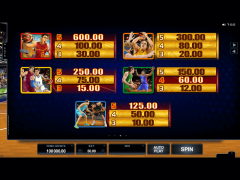 Basketball Star slotmachines77.com Quickfire 4/5