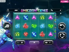 Unicorn Gems slotmachines77.com MrSlotty 1/5
