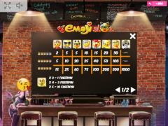 Emoji Slot slotmachines77.com MrSlotty 5/5