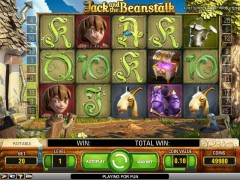 Jack and The Beanstalk slotmachines77.com NetEnt 2/5